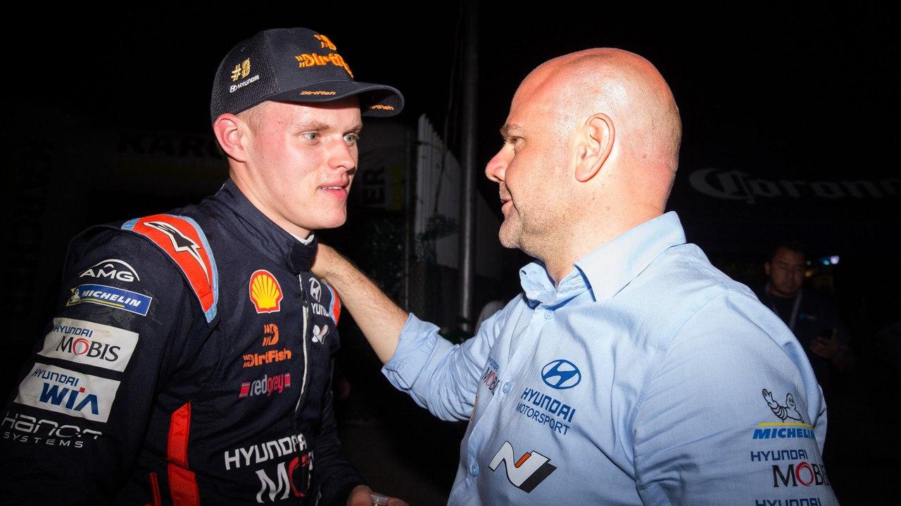 """Andrea Adamo: """"No puedo decir que estoy feliz con el inicio del WRC"""""""