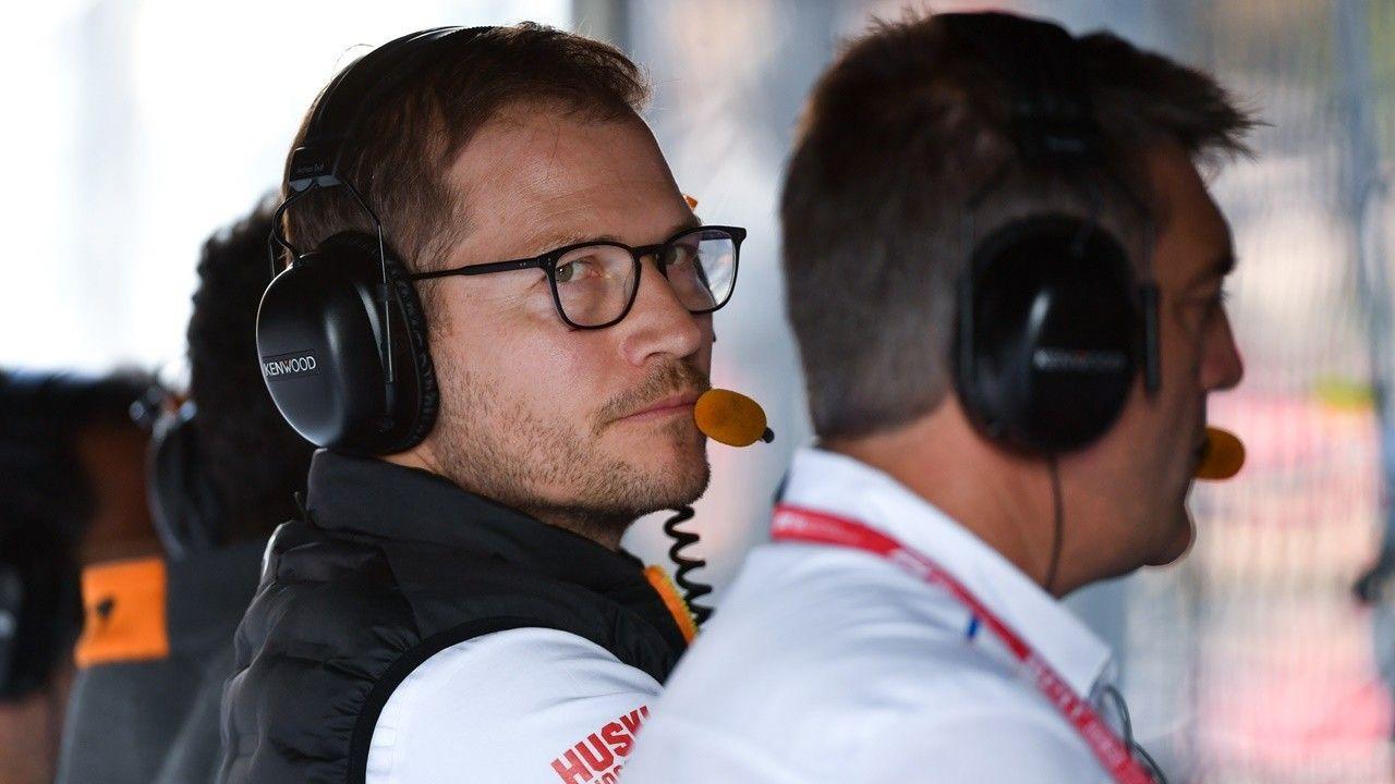 Andreas Seidl se quedó en Melbourne con el equipo de McLaren en cuarentena