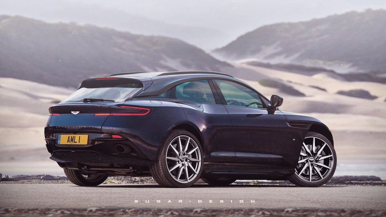 Aston Martin DBX Coupé