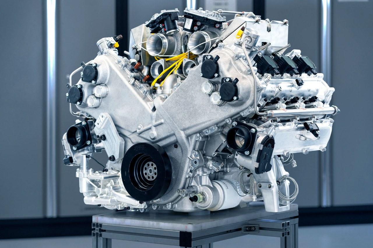 Aston Martin presenta su nuevo V6 Twin Turbo de 1.000 CV