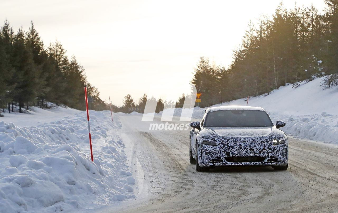 ¡Primeras fotos espía del Audi e-tron GT! El tercer eléctrico de Audi ya en camino