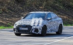 El nuevo Audi RS 3 Sedán se deja vez por primera vez en fotos espía