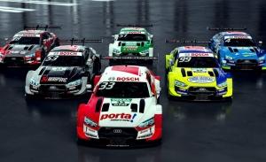 Audi Sport muestra los colores de los seis Audi RS 5 DTM oficiales