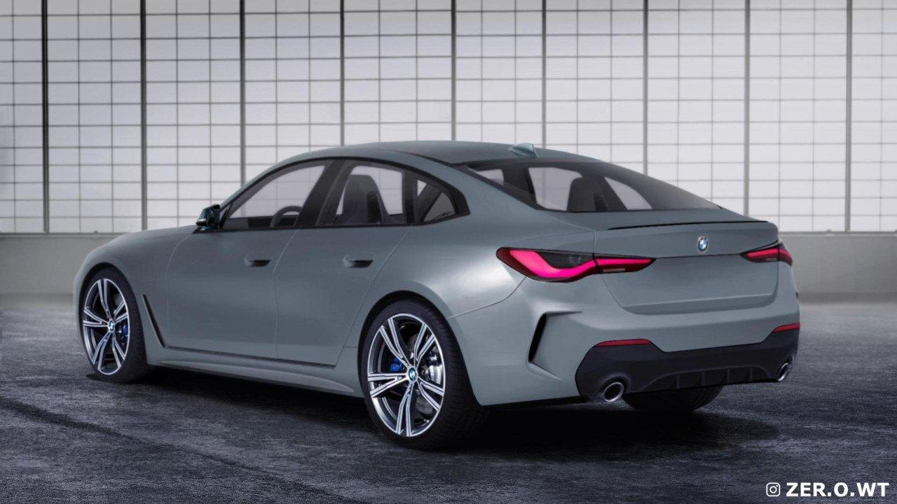 Primeras recreaciones del nuevo BMW Serie 4 Gran Coupé