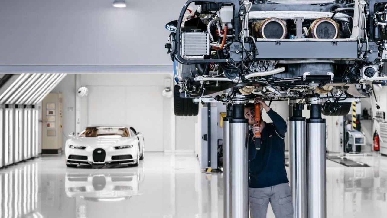 Bugatti suspende la producción en Molsheim por el coronavirus