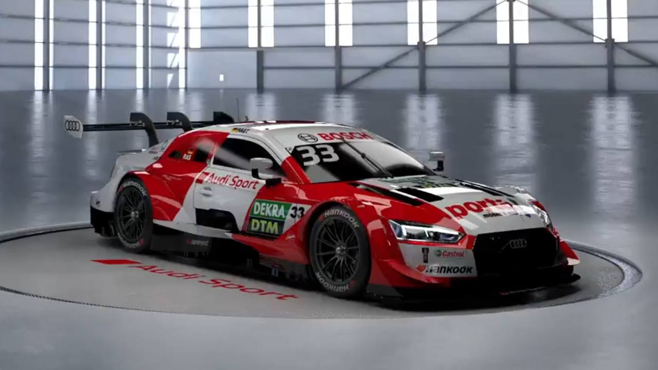 El campéon René Rast estrena decoración en su Audi RS 5 DTM de 2020