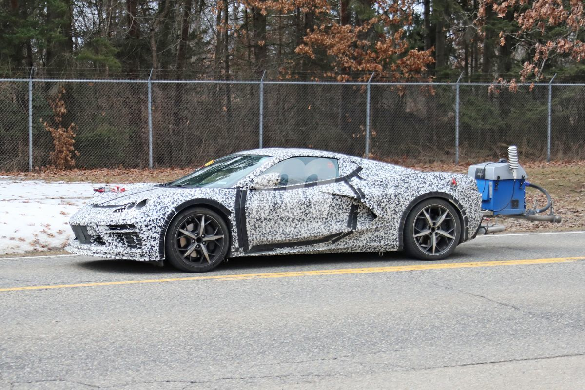 Pillamos el nuevo Corvette híbrido durante unas pruebas de emisiones