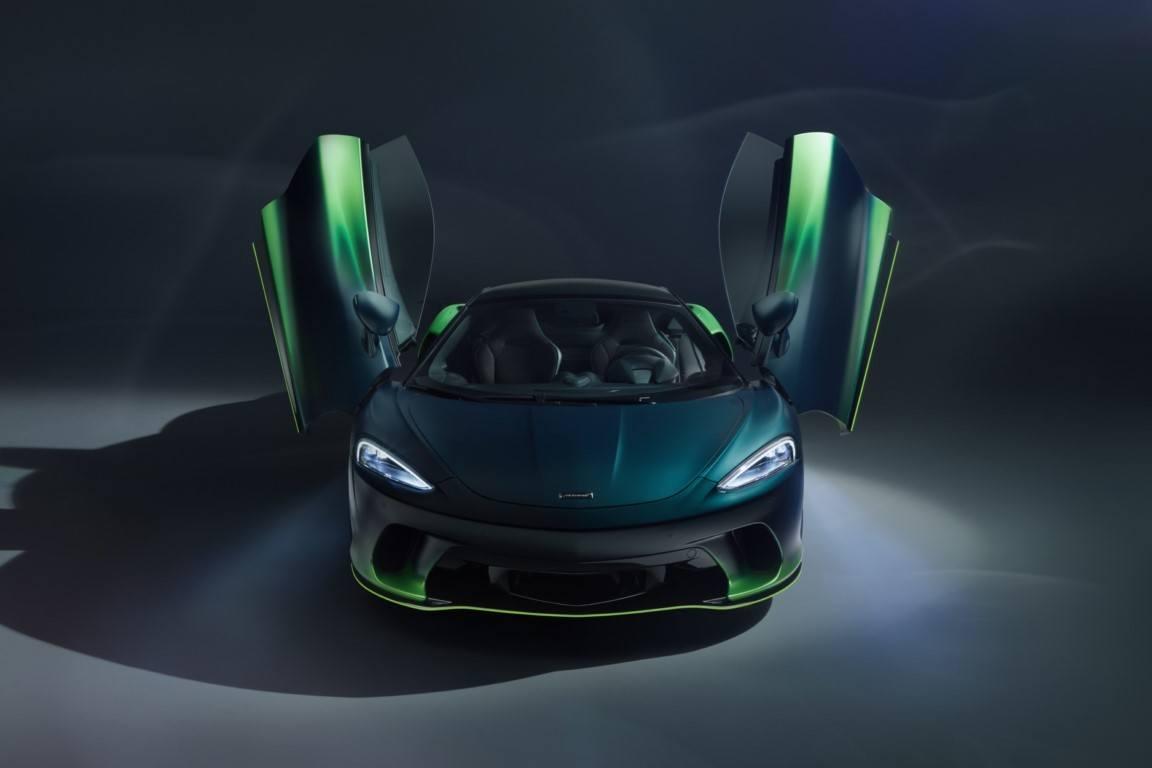 MSO Verdant Theme, una nueva opción de personalización propuesta a bordo del McLaren GT