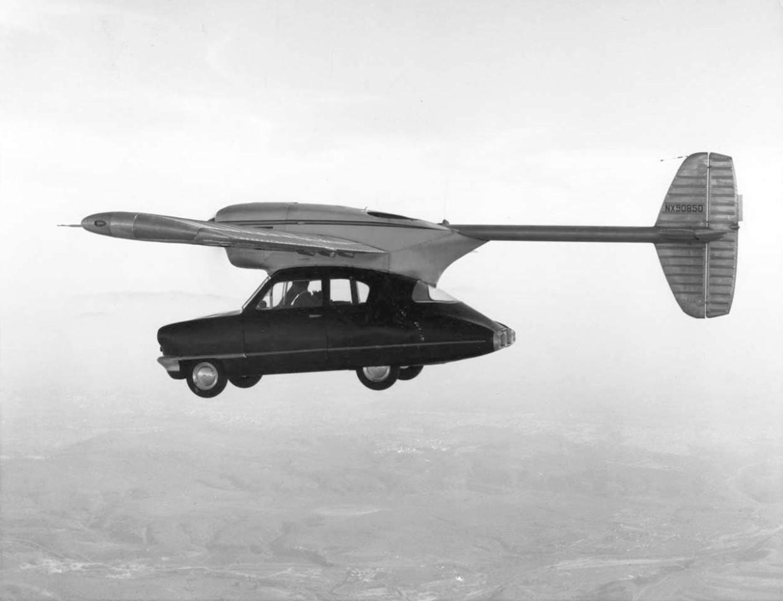 Convair Model 118, el coche volador que se estrelló por error