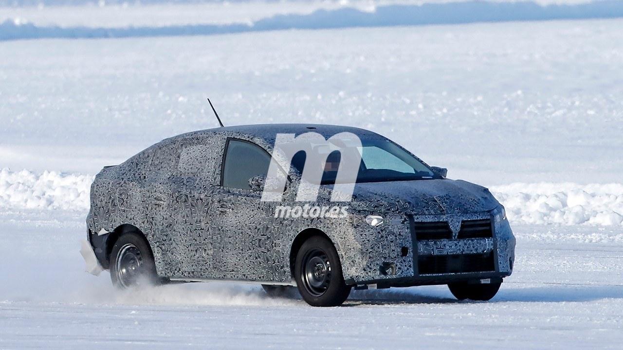 El nuevo Dacia Logan 2021 se enfrenta al frío y la nieve
