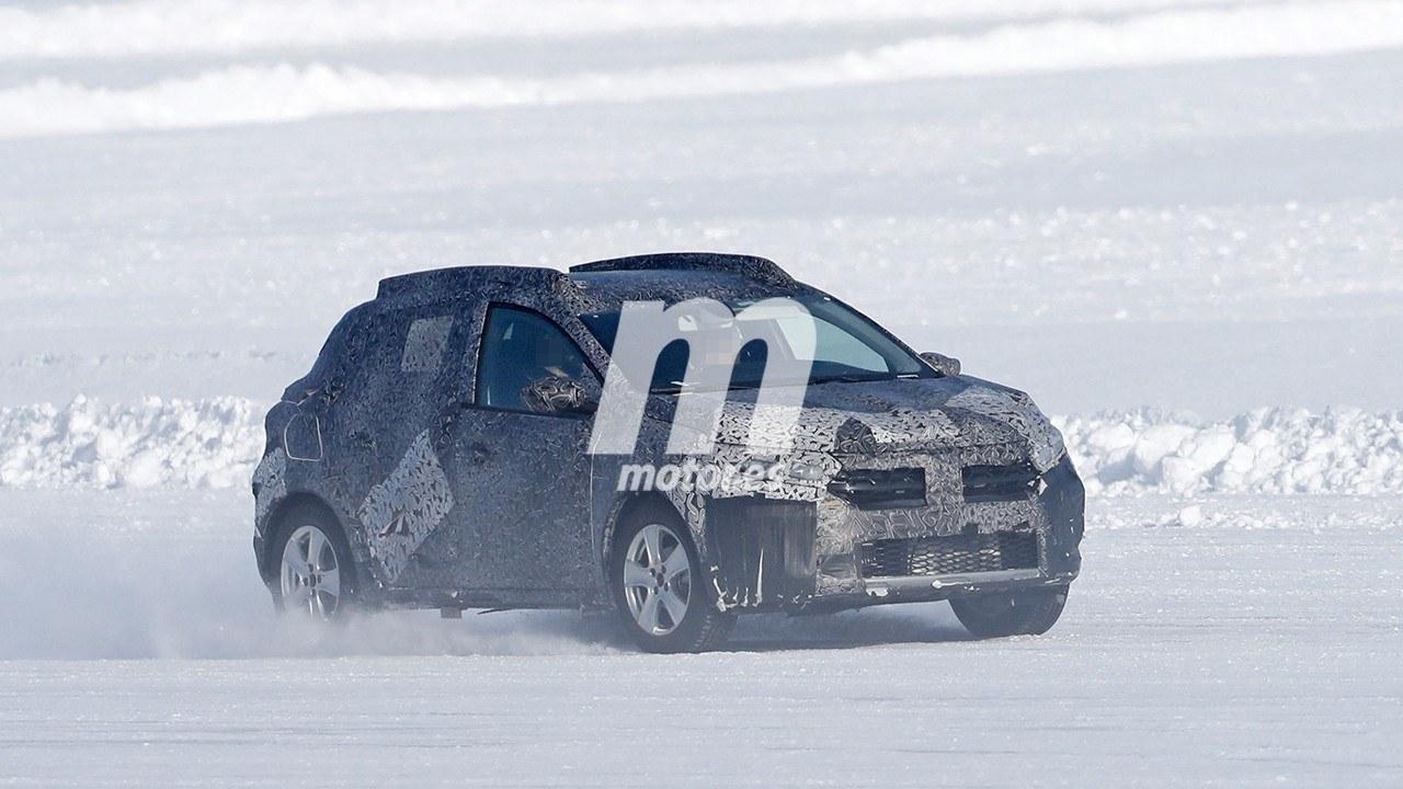 El Dacia Sandero Stepway 2021 demuestra sus habilidades sobre la nieve