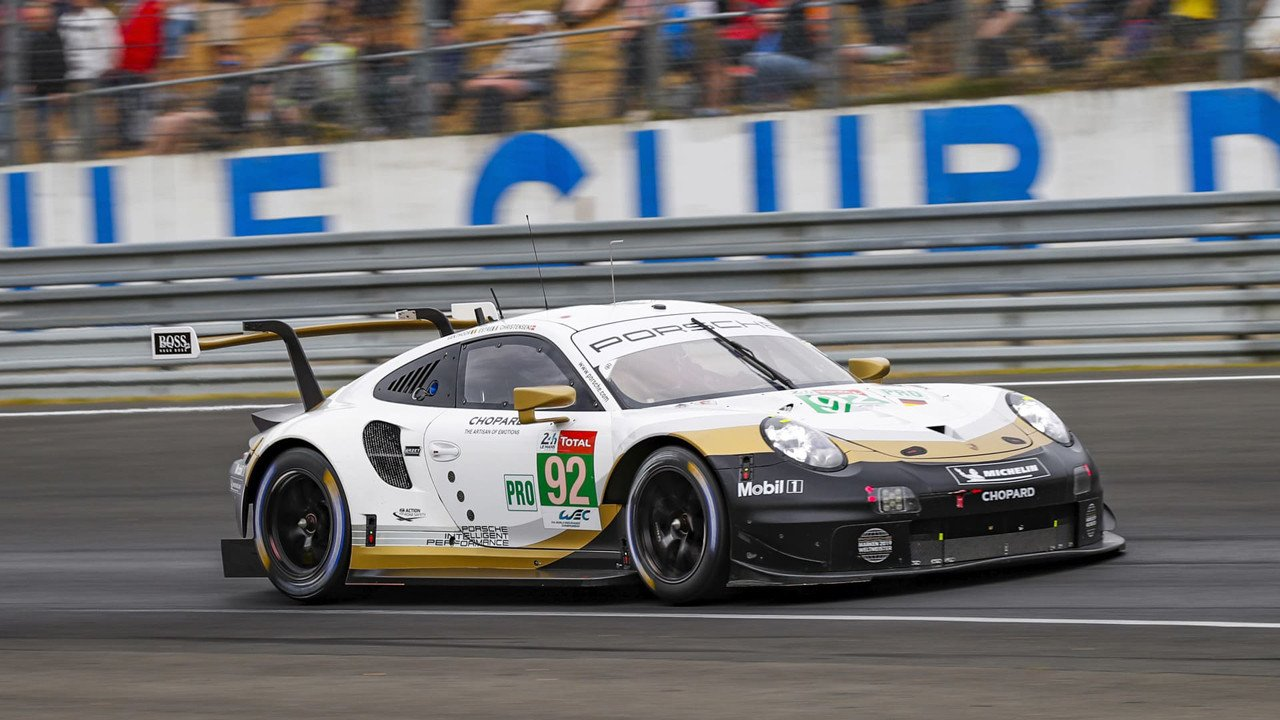 'ENDURANCE': el doble reto de Porsche en Le Mans y Nürburgring