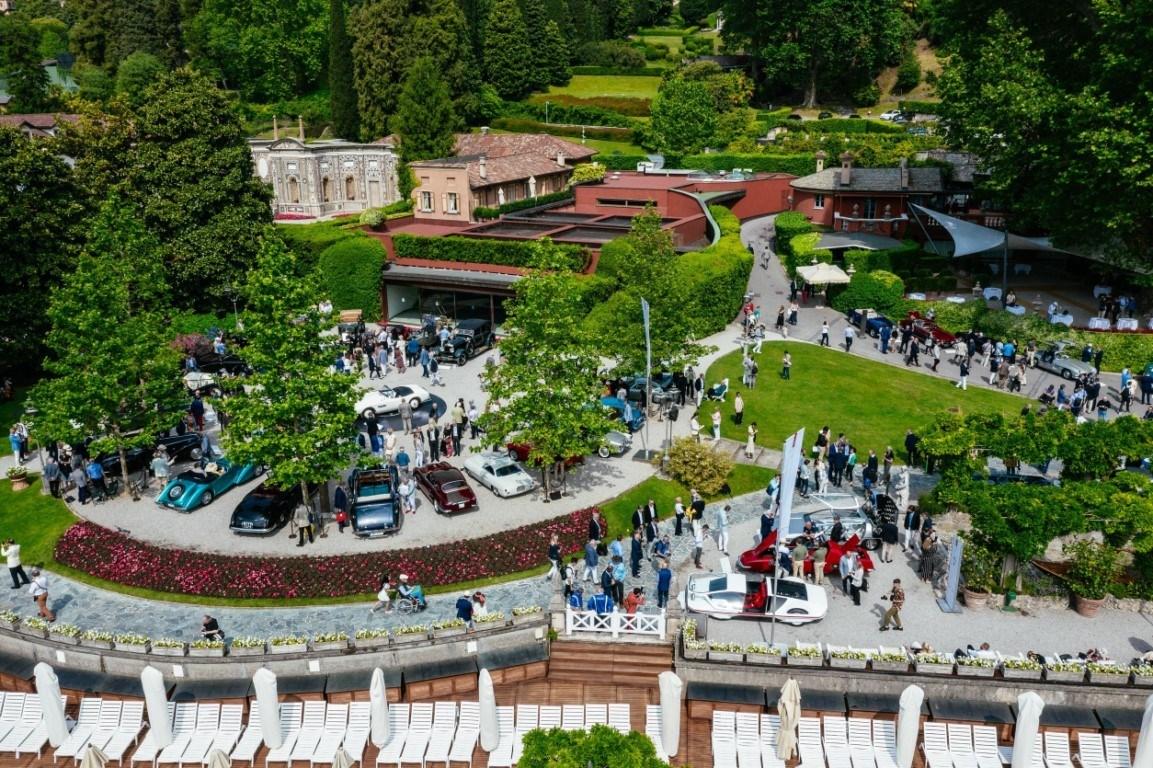 El Coronavirus obliga a cambiar las fechas del Concurso de Elegancia de Villa d'Este 2020