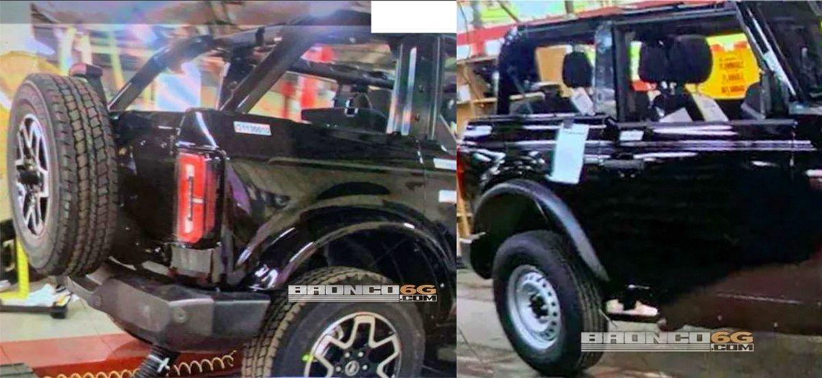 Filtración: el Ford Bronco nos muestra las primeras imágenes de su zaga