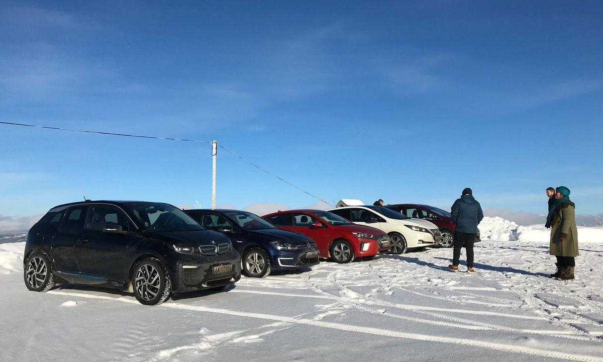 Un estudio en Noruega demuestra la influencia del frío en la autonomía de los coches eléctricos