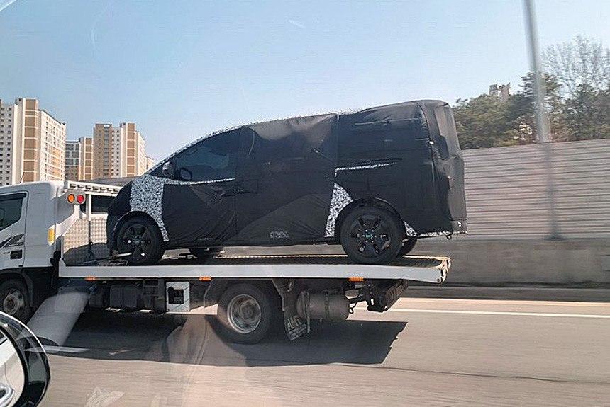 Nuevas fotos espía desvelan una generación completamente nueva del Hyundai H-1
