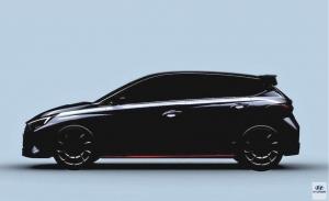 Hyundai adelanta un teaser del nuevo i20 N, el utilitario de altas prestaciones