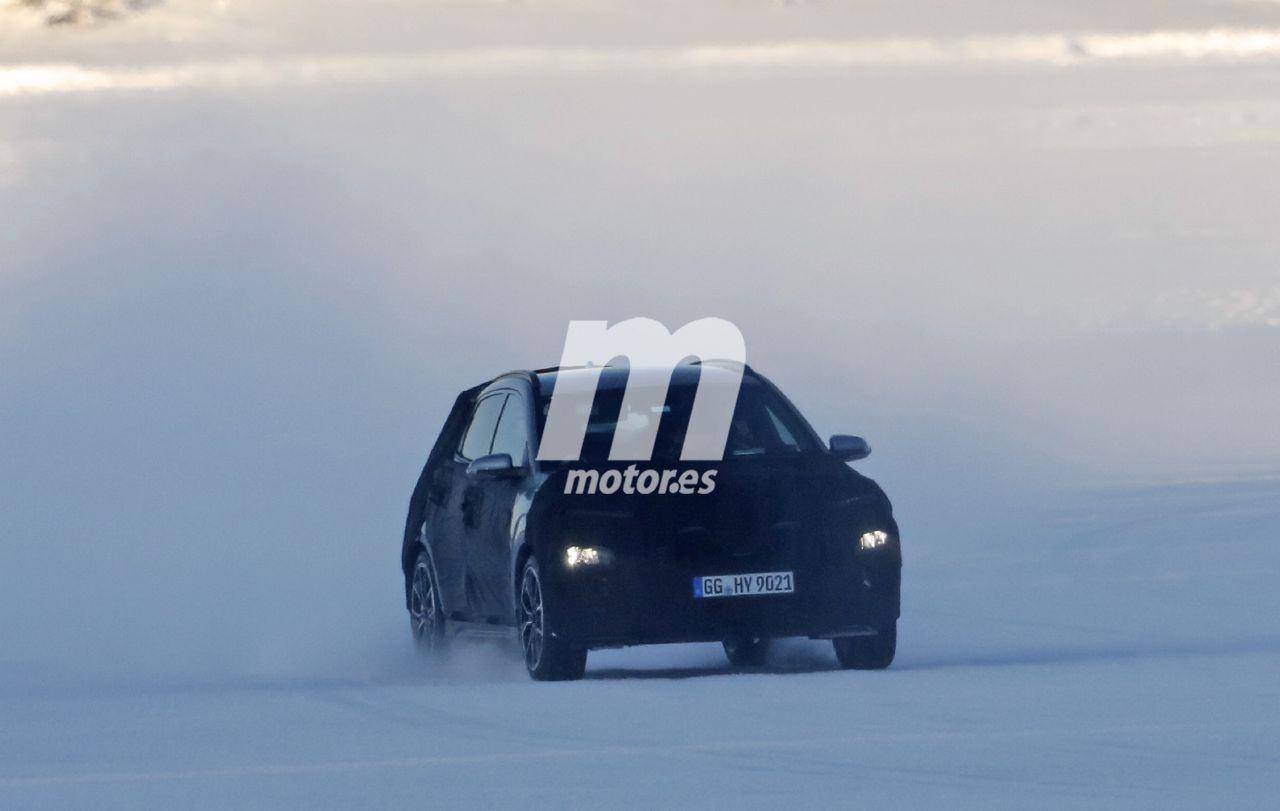 Nuevas fotos espía descubren el prototipo de producción del nuevo Hyundai Kona N