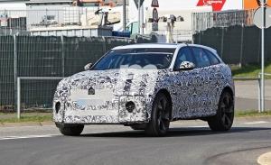 Los prototipos del Jaguar F Pace SVR Facelift se trasladan a Nürburgring