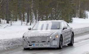 Nuevas fotos espía del Jaguar XJ 2021 muestran sus grandes proporciones y un estilo deportivo