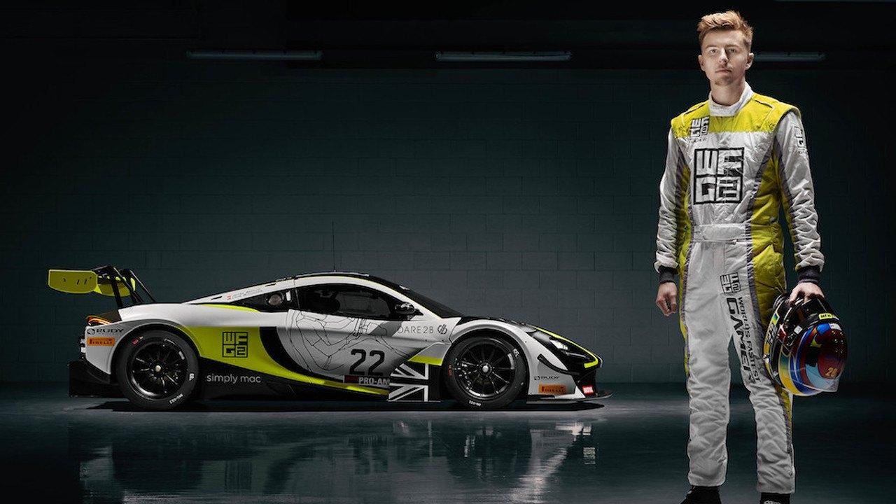 James Baldwin pilotará el McLaren GT3 del Jenson Team Rocket RJN