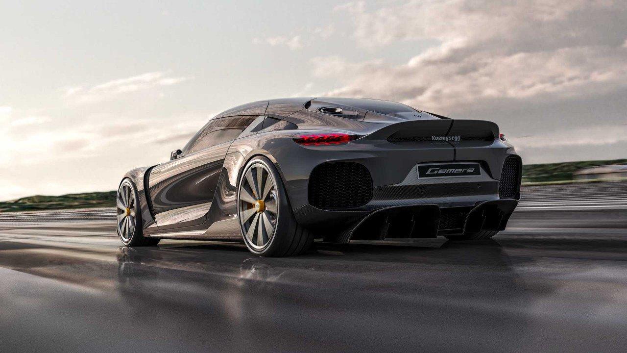 Foto Koenigsegg Gemera