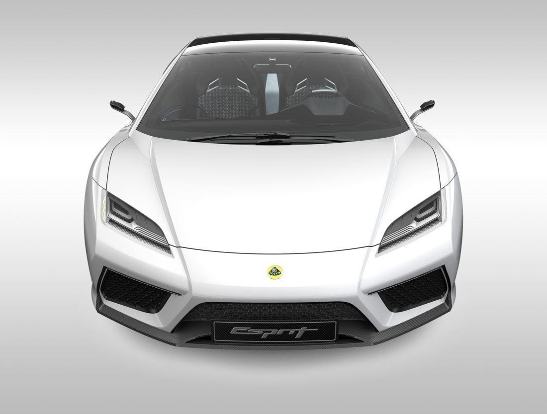 Lotus resucitará el Esprit en 2021 con un deportivo híbrido de motor central