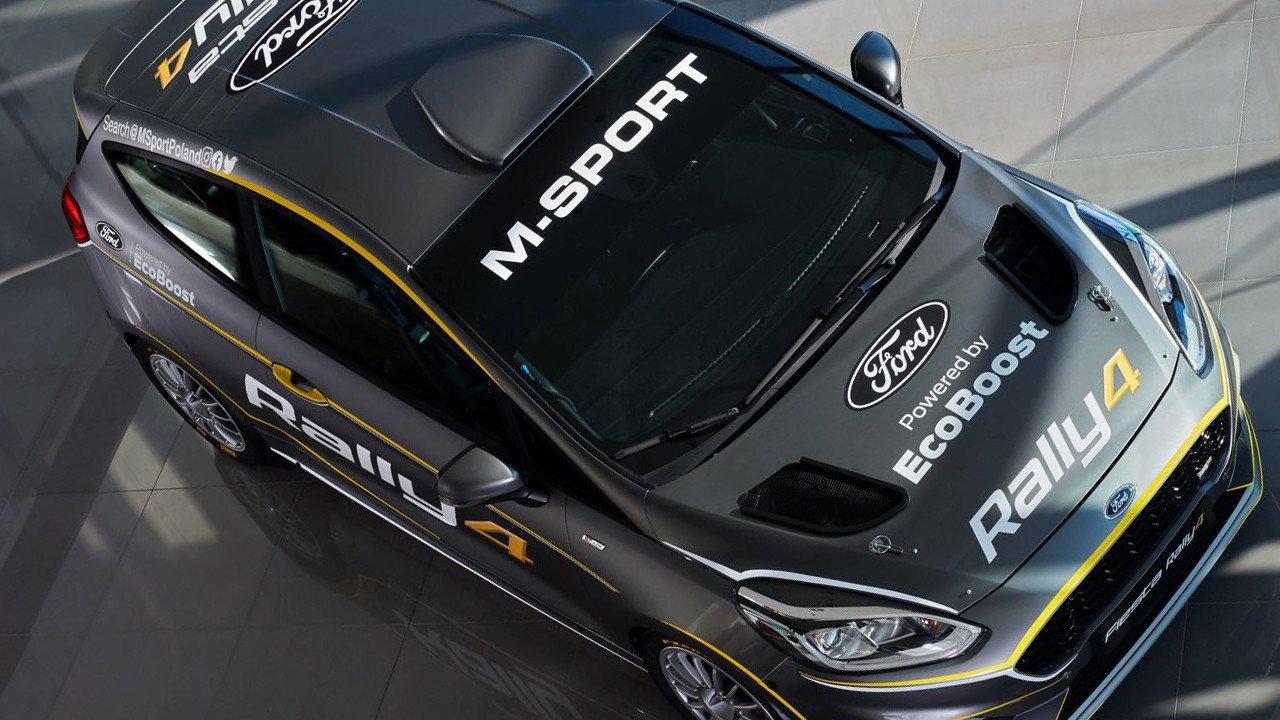 M-Sport presenta la versión renovada del Ford Fiesta Rally4