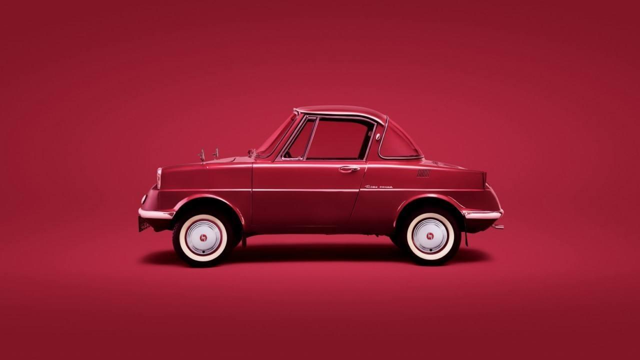 El Mazda R360 Coupé, precursor de la fabricación ligera del MX-5