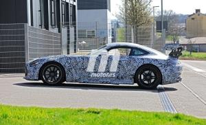 El Mercedes-AMG GT R Black Series 2021 llega a Nürburgring con nuevos detalles de producción