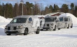 La segunda generación del Mercedes Citan, cazada en las pruebas de invierno