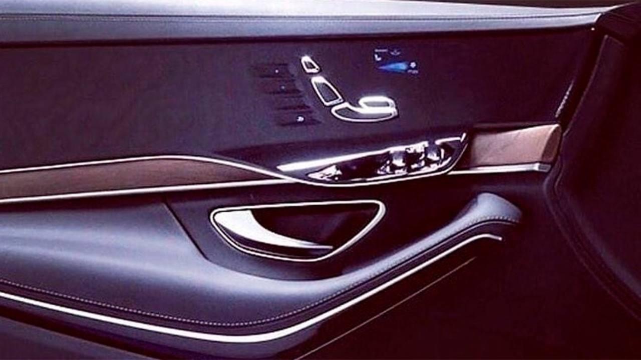Nueva filtración confirma una avanzada pantalla en las puertas del Mercedes Clase S 2021