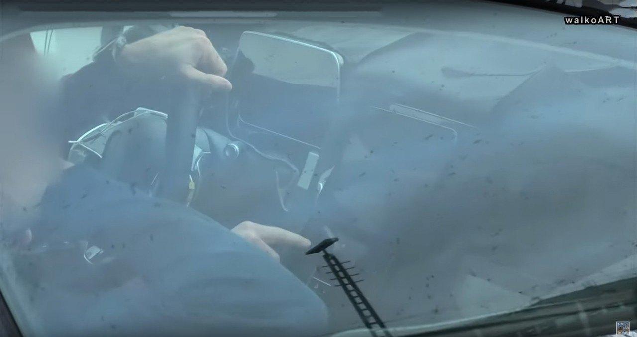 Un vídeo espía muestra el interior del nuevo Mercedes EQS 2022