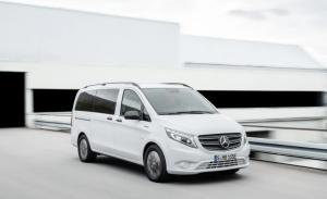 Mercedes eVito Tourer, el comercial eléctrico a la venta en verano