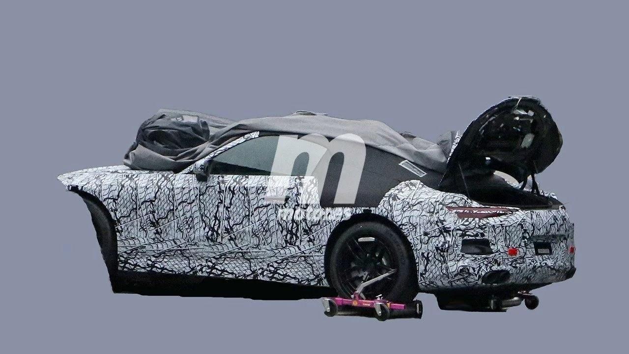 Una filtración desvela la gama de motores del nuevo Mercedes SL 2021