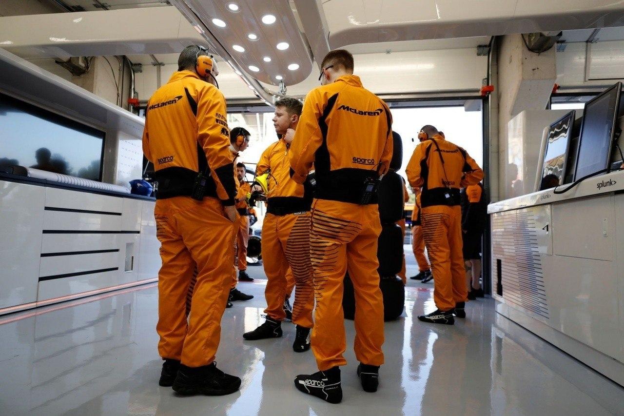 El miembro de McLaren afectado por coronavirus, libre de síntomas