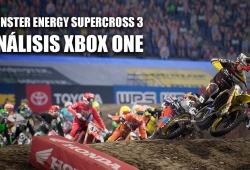 Análisis Monster Energy Supercross 3 para Xbox One, consolidando una nueva saga