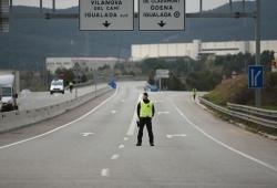 Carreteras cerradas por el estado de alarma, ¿qué vehículos pueden circular?