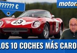Los 10 coches más caros del mundo (con vídeo)
