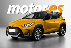 Adelantamos el diseño del nuevo Toyota Yaris Cross, el B-SUV a la venta en 2021