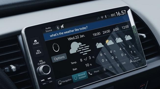 Los nuevos modelos de Honda apuesta por la conectividad