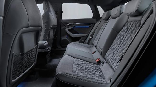 Audi A3 2020 - plazas traseras