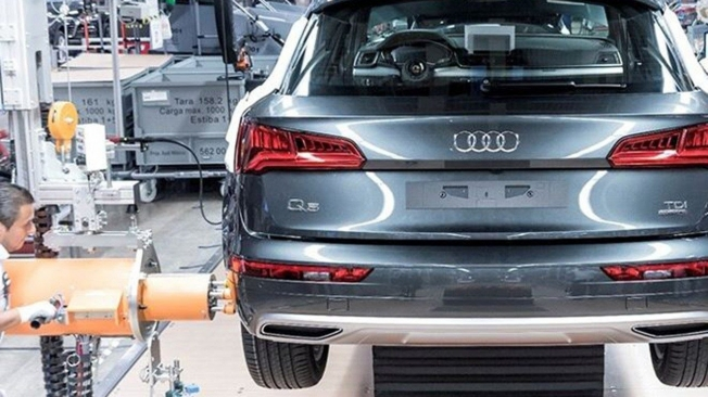 Producción del Audi Q5 en México