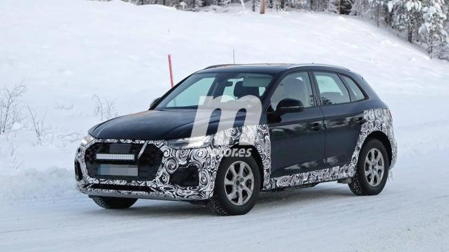 Audi Q5 2021 - foto espía