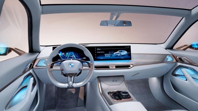 BMW Concept i4 - interior