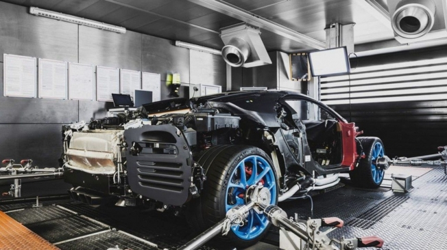 Producción de Bugatti en Molsheim