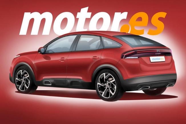 Recreación del nuevo Citroën C4 2021