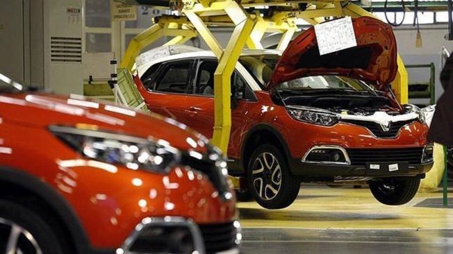Producción de Renault en España