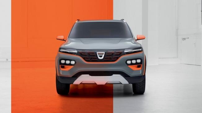 Dacia Spring - frontal