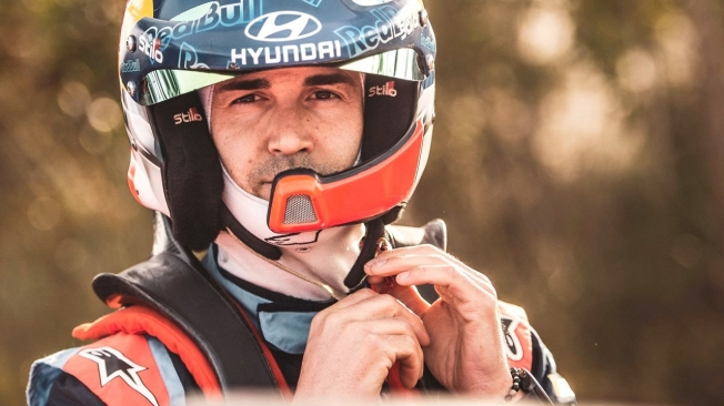 Dani Sordo es la gran novedad de Hyundai en el Rally de México